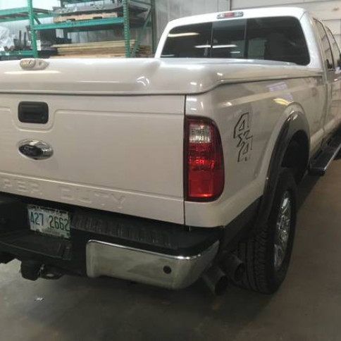 Superduty Tonneau cover and bed rug